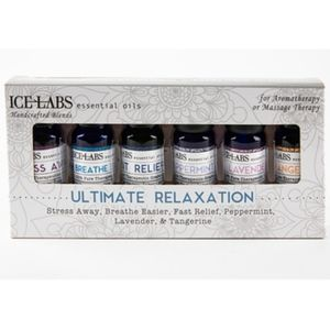 ICE LABS ULTIMATE RELAXATION ESSENTIAL OILS SET